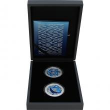 Tangaroa - Guardian of the Ocean - Sada stříbrných kolorovaných mincí 2021 Proof