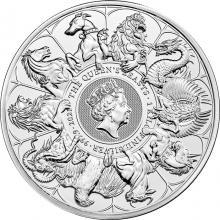 Strieborná investičná minca 1 Kg The Queen's Beasts 2021