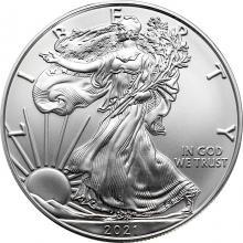 Strieborná investičná minca American Eagle 1 Oz Typ 1