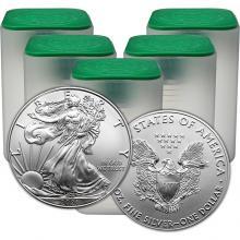 Strieborná investičná minca American Eagle 1 Oz (Odber 100 Ks a viac) Typ 1