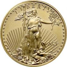 Zlatá investičná minca American Eagle 1/10 Oz Typ 1