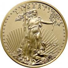 Zlatá investičná minca American Eagle 1/4 Oz Typ 1