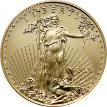 Zlatá investičná minca American Eagle 1/2 Oz Typ 1