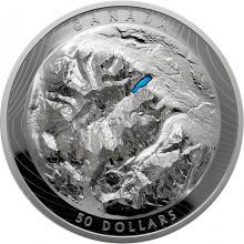 Stříbrná mince Lake Louise High Relief 2021 Proof