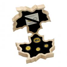 Maple Leaf Exkluzivní sada zlatých mincí 2022 Proof .9999