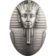 Strieborná minca 3 Oz Maska Tutanchamóna 2022 Antique Štandard