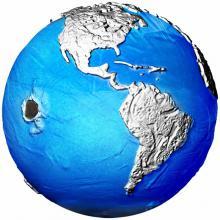 Stříbrná mince 3 Oz The Blue Marble - planeta Země v ohrožení 2022
