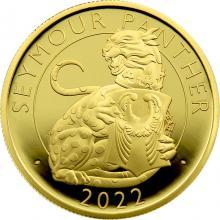 Zlatá mince Seymour Panther 1 Oz 2022 Proof