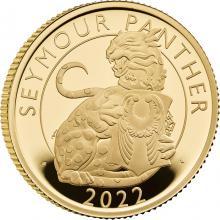 Zlatá minca Seymour Panther 1/4 Oz 2022 Proof