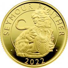 Zlatá mince Seymour Panther 1/4 Oz 2022 Proof