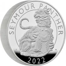 Strieborná minca 10 Oz Seymour Panther 2022 Proof