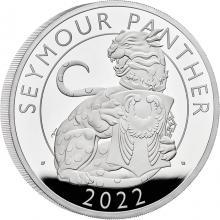 Strieborná minca 5 Oz Seymour Panther 2022 Proof
