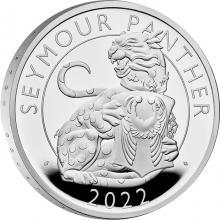 Strieborná minca Seymour Panther 1 Oz 2022 Proof