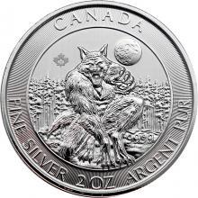 Stříbrná investiční mince Vlkodlak 2 Oz 2021