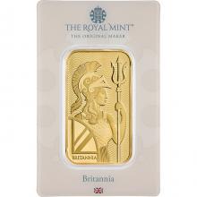 31,1g The Royal Mint - Britannia Investiční zlatý slitek