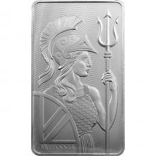 311g The Royal Mint - Britannia Investičná strieborná tehlička