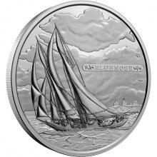 Stříbrná mince 5 Kg Bluenose - 100. výročí 2021 Proof