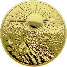 Zlatá mince Zlatá horečka na Klondiku - 125. výročí 1 Oz 2021 Proof