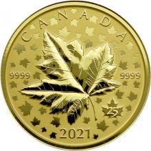 Zlatá mince Maple Leaf Celebration 1 Oz 2021 Piedfort Proof