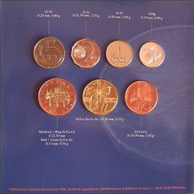 Oběžné mince ČR, SK, r.2007 - b.k.