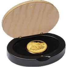 Exkluzivní Zlatá mince Year of the Ox Rok Buvola 1 Oz 2009 Proof