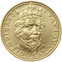 Zlatý 40 dukát Václava I. 2010 Standard