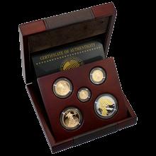 American Eagle Exkluzivna sada zlatých mincí 200. výročnej hymny USA 2012 Proof