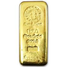 1000g Argor Heraeus SA Švýcarsko Investiční zlatý slitek
