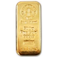 500g Argor Heraeus SA Švýcarsko Investiční zlatý slitek