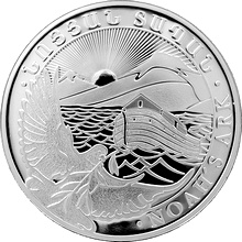 Strieborná investičná minca Noemova archa Arménie 5 Oz