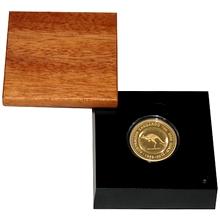 Zlatá mince Australian Kangaroo 25. výročí 1 Oz 2014 Proof