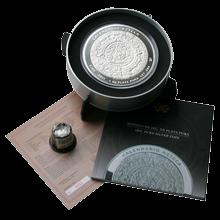 1kg Aztécký kalendář Stříbrná mince 2011 Proof
