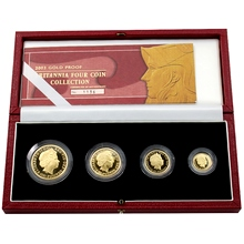 Britannia Sada zlatých mincí 2003 Proof