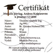 Individuální certifikát