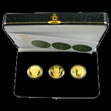 Codex Gigas Sada 3 zlatých medailí 2008 Proof