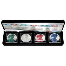 American Eagle Čtyři roční období Sada stříbrných mincí 2015 Standard