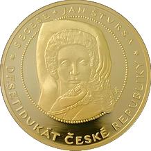 Desetidukát ČR Secese 2009 Proof