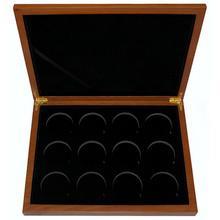 Dřevěná krabička 12 x Ag Lunární série II. 2008 - 2019