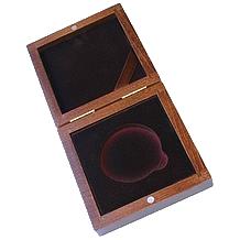 Drevenná krabička 1 x Ag Titulárna 57 mm
