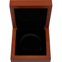 Dřevěná krabička 1 x Ag 49 mm Lunární série II. 1 Oz