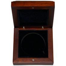 Dřevěná krabička 1 x Au 43 mm Lunární série II. 1 Oz