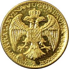 Zlatá mince Dukát Alexandr I. 1931