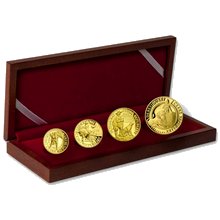 Dukátová řada ČR 2012 Pověsti české sada 4 medailí Proof