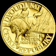 Dvoudukát ČR 2012 Pověst O Horymírovi Proof