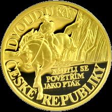 Dvoudukát ČR 2011 Pověst O Horymírovi Proof