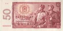 50 Kčs emisia 1964