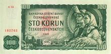100 Kčs emisia 1961