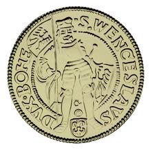 Replika zlatého dukátu Ferdinanda I. standard