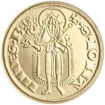 Replika florénu Jana Lucemburského 2006 Standard