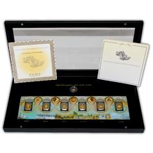 Zlatá Horečka PAMP The Gold Rush Collection 2,5g Exkluzivní sada Proof